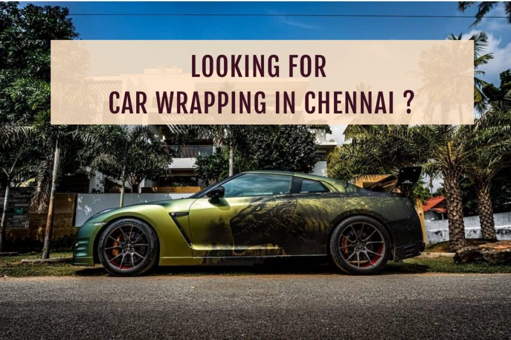 Car wrapping in Chennai