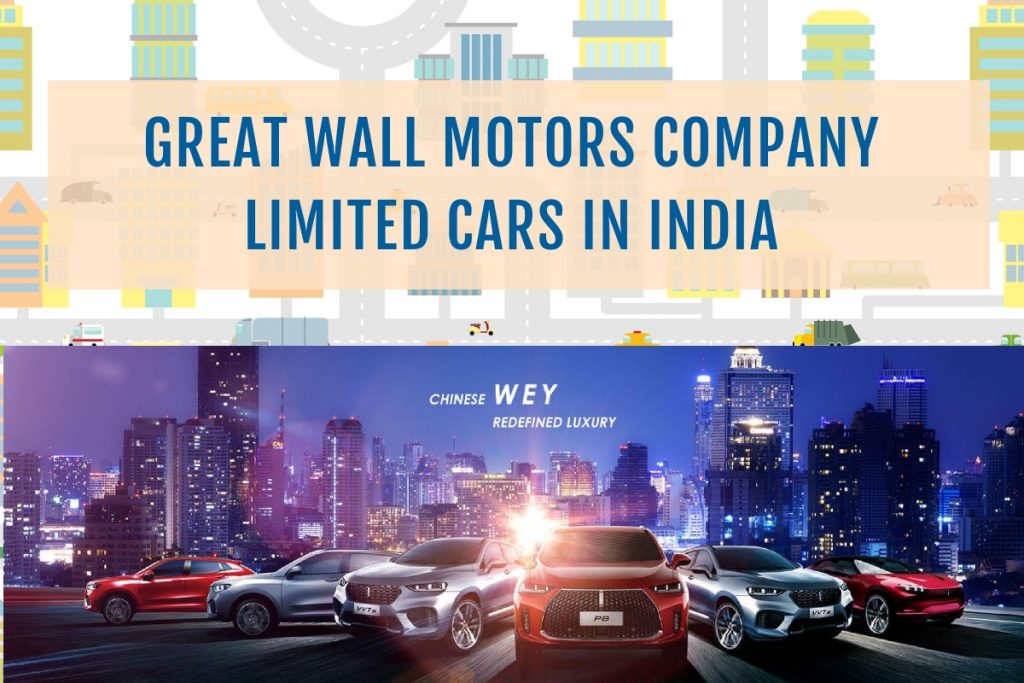 Great Wall Motors cars in India