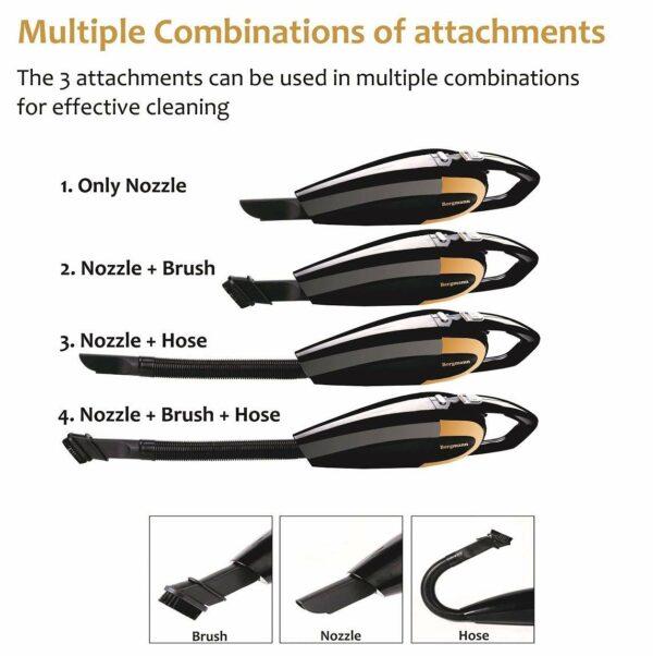 image of bergmann car vacuum cleaner accessories india