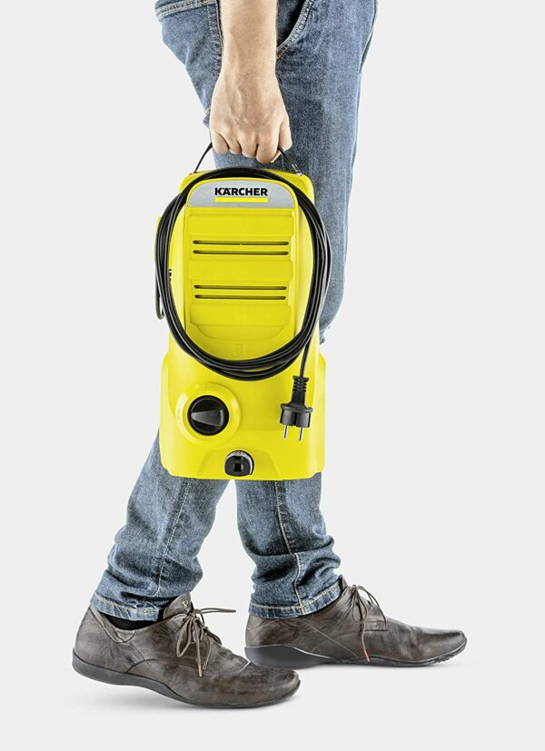 image of karcher car pressure washer carrying india
