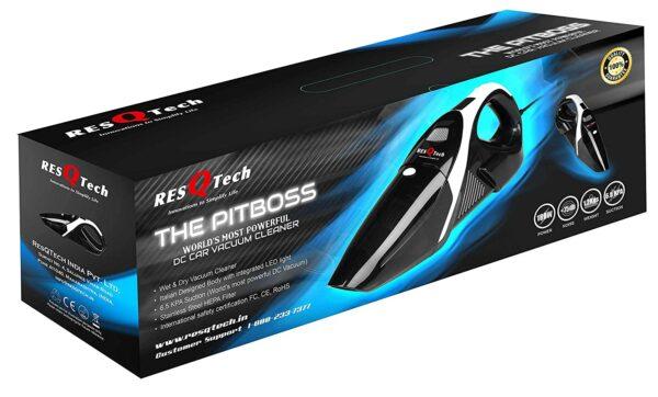 box image of resqtech car vacuum cleaner india