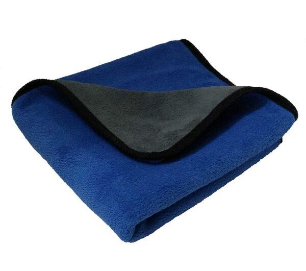 image of sobby extra soft blue microfiber cloth india