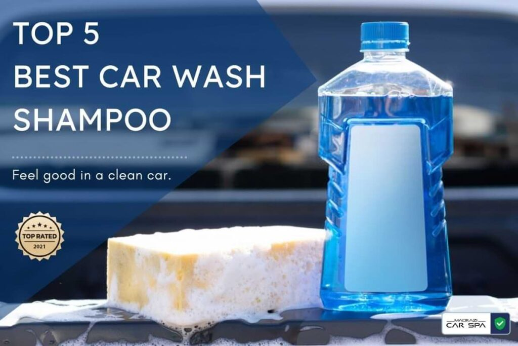 blog image for the top 5 best car wash shampoos in India