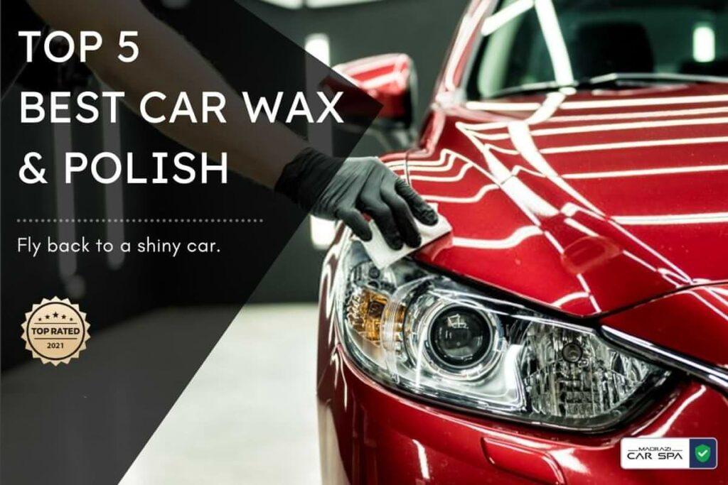 blog header image for the best car wax in India