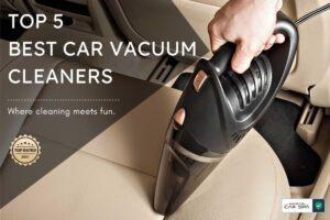 header image of top 5 best car vacuum cleaners in india